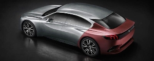 The PEUGEOT EXALT concept, design innovator for heightened sensations