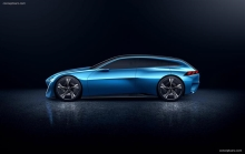 Peugeot INSTINCT Concept Hints At Autonomous Future