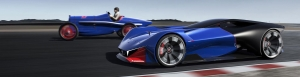 L500 R HYbrid, how PEUGEOT sees the future of motor sport