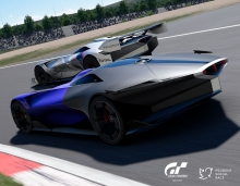Peugeot And Peugeot Sport Reveal Even Sportier L750 R Hybrid Vision Gran Turismo