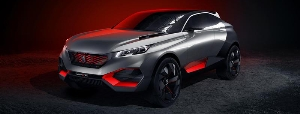 PEUGEOT Quartz concept: an exceptional crossover that is a thrill to drive