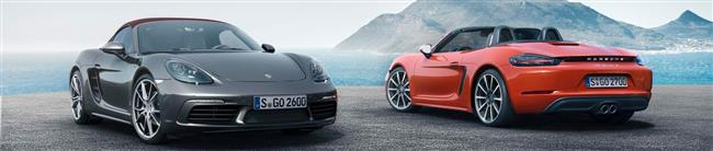 Powerful Purity: The New Porsche 718 Boxster And 718 Boxster S