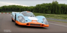 Porsche 917K Races to The Pebble Beach Auctions Presented by Gooding & Company