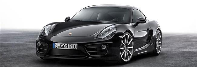 In Elegant Black: Porsche Cayman Black Edition