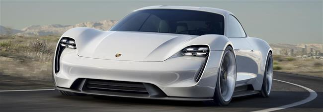 World premiere of the first battery-powered four-seat concept car from Porsche