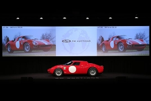 1964 Ferrari 250 LM Races to $9.6 Million as Records Tumble at RM's Arizona Sale
