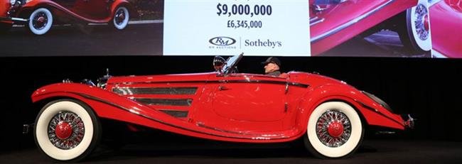 Mercedes-Benz 540 K Special Roadster Headlines RM Sotheby's $62.8 Million Arizona Sale