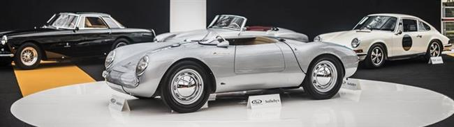 Rare 1955 Porsche 550 Spyder Steals The Show At RM Sotheby's Paris Sale