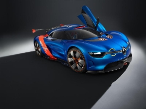 A concept car to celebrate 50 years of the Alpine A110