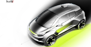 Rinspeed Exhibits 'Budii' At The 2015 Geneva Motor Show