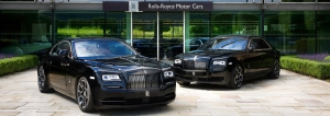 Rolls-Royce Celebrates 2016 Goodwood Festival Of Speed With A Dark And Edgy Presence