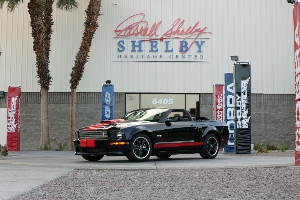 Shelby American To Roll Serial #1 Barrett-Jackson Edition Shelby GT Across Reno Block