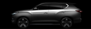 SsangYong Showcases LIV-2 SUV Concept At Paris