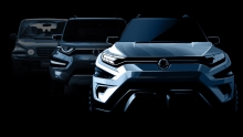 SsangYong Showcases Its Xavl Mid-Size Suv Concept At Geneva