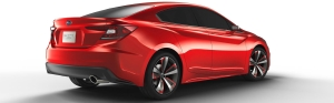 The Subaru Impreza Sedan Concept