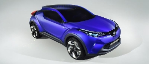 Toyota C-HR Concept At The 2014 Paris Motor Show