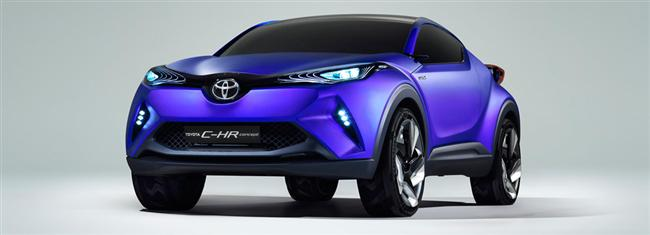 New TOYOTA C-HR Concept : Toyota's vision of for C-segment Crossover
