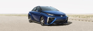 Toyota Fuel Cell Sedan At The 2014 Paris Motor Show