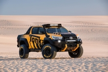 Toyota Turns HiLux Into The Ultimate Tonka Toy For Grown-Ups