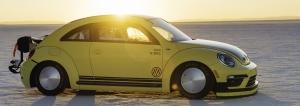 Volkswagen Beetle LSR Runs 205.122 Mph At Bonneville Salt Flats, Becoming The World's Fastest Beetle
