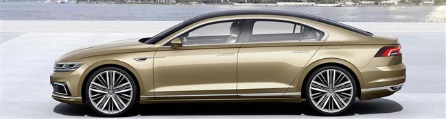 Volkswagen Presents The C Coupé GTE Concept Car At Auto Shanghai 2015