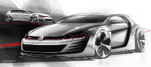 Wild racing GTI concept features a 503-horsepower engine and a 186 mph top speed