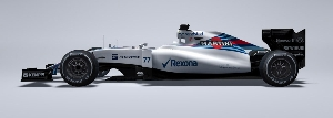 Williams Martini Racing Launch First Images of the Williams Mercedes FW37