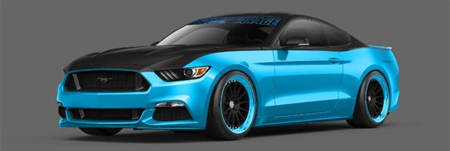 Stampede Of Customized 2015 Ford Mustangs To Debut At 2014 SEMA Show In Las Vegas