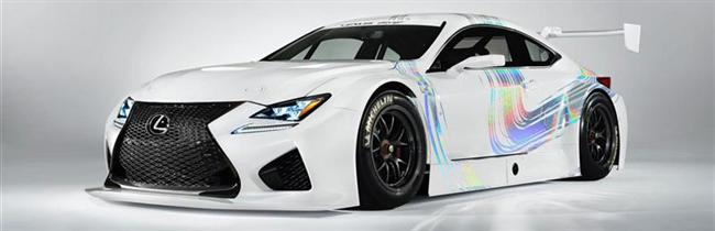 Lexus RC F GT3 Racing Concept Rumbles the 2014 Geneva Motor Show With its Debut