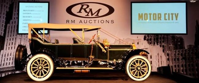 RM Celebrates 20th Anniversary Auction in the Motor City with $7.4 Million in Sales