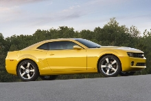 Chevrolet Unveils The 2010 Camaro - A Fun, Efficient Sports Car For The 21st Century