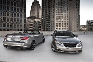 Distinctive Style and Attitude Define the New 2011 Chrysler 200 S Sedan and 2011 Chrysler 200 S Convertible