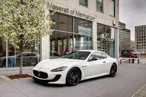 Maserati introduces a taste of the race-bred GranTurismo MC Stradale's magic to North America with the GranTurismo MC