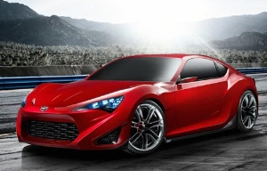 Scion Introduces FR-S Sports Coupe Concept at 2011 New York Auto Show