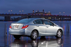 New 2012 Honda Civic Hybrid Receives Li-Ion Battery Technology