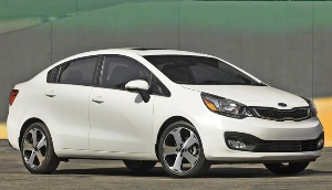 ALL-NEW 2012 KIA RIO SEDAN MAKES WORLD DEBUT AT THE NEW YORK INTERNATIONAL AUTO SHOW