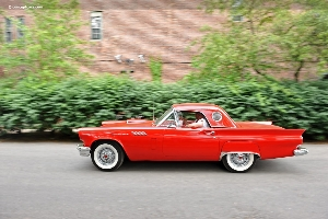 The 1957 Ford Thunderbird