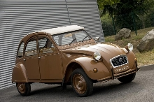 Citroen 2CV by Hermes