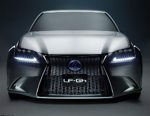 Lexus LF-Gh Hybrid Concept Explores Design Features That Will Migrate to Future Lexus