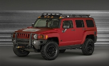 Hummer H3 Alpha Four Wheeler Project Trailhugger Concept