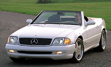 2001 MercedesBenz SL600  conceptcarzcom