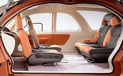 1995 Mitsubishi Gaus Concept Image