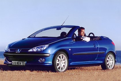 2001 peugeot 206 cc pictures history value research news. Black Bedroom Furniture Sets. Home Design Ideas
