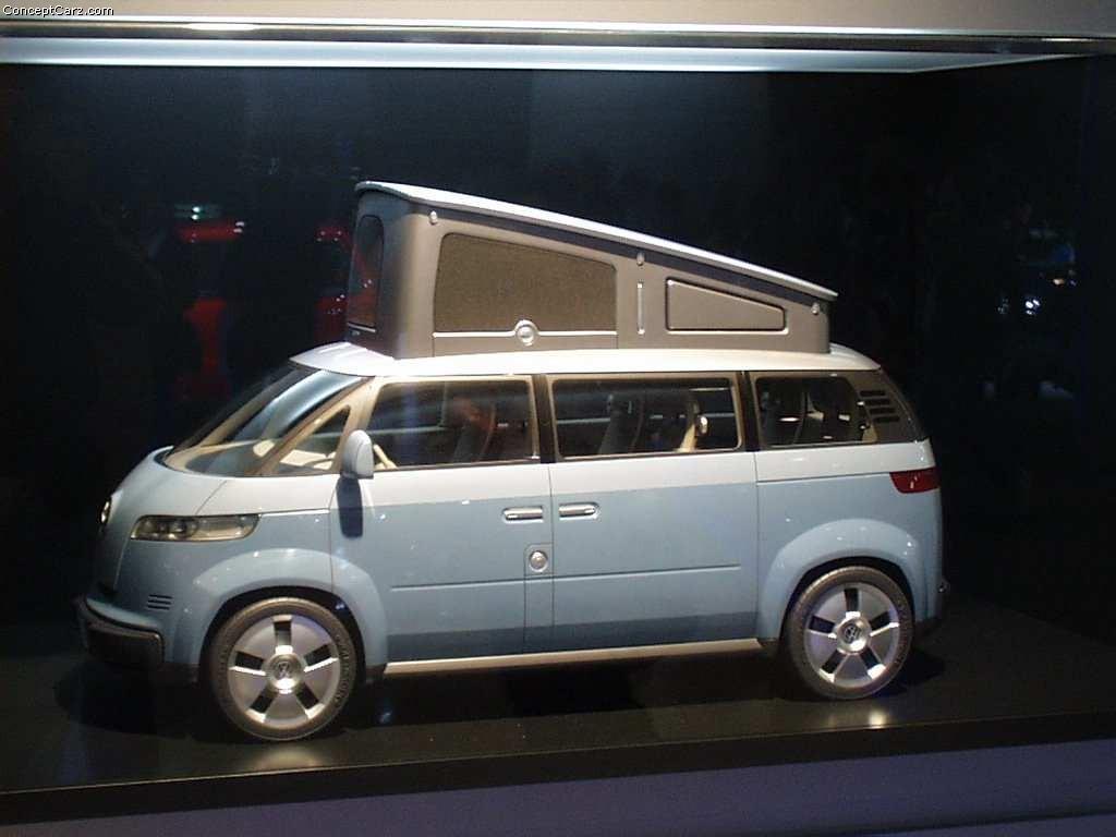 2001 Volkswagen Microbus Concept Image