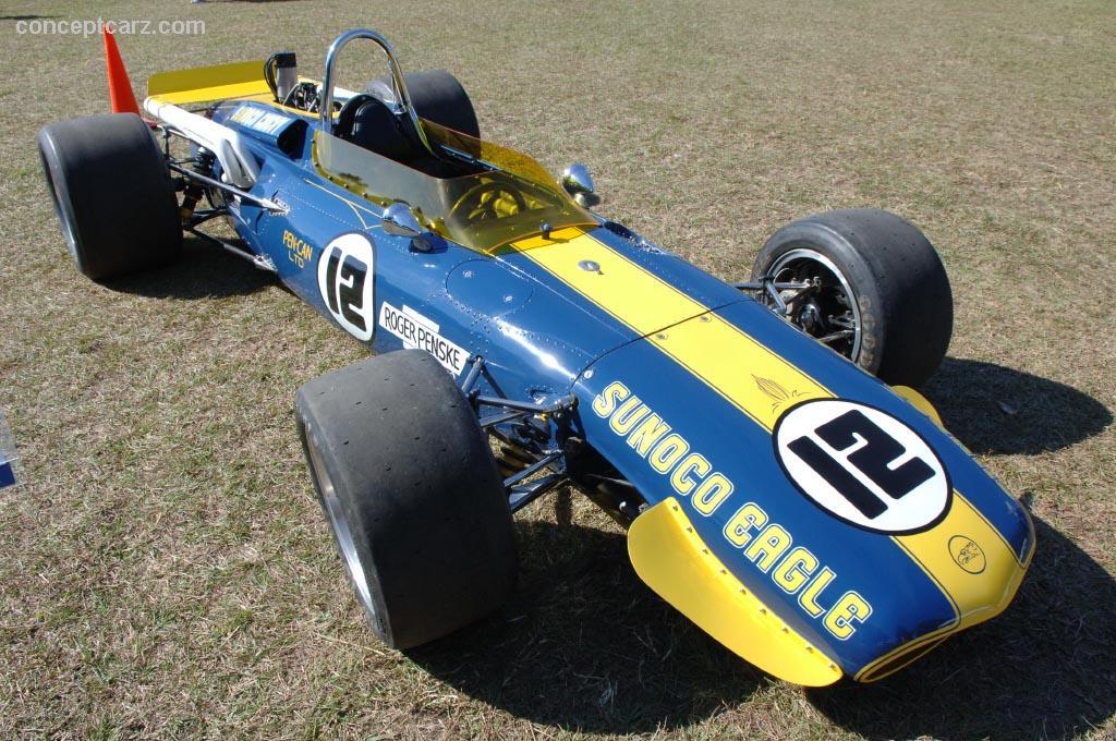1968 Gurney Aar Indy Eagle Image Chassis Number 406