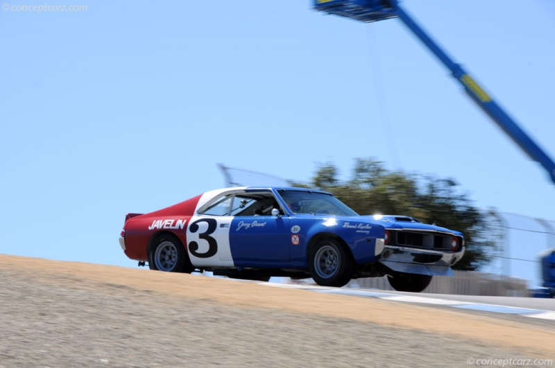 Chassis TA-026. 1969 AMC Javelin chassis information