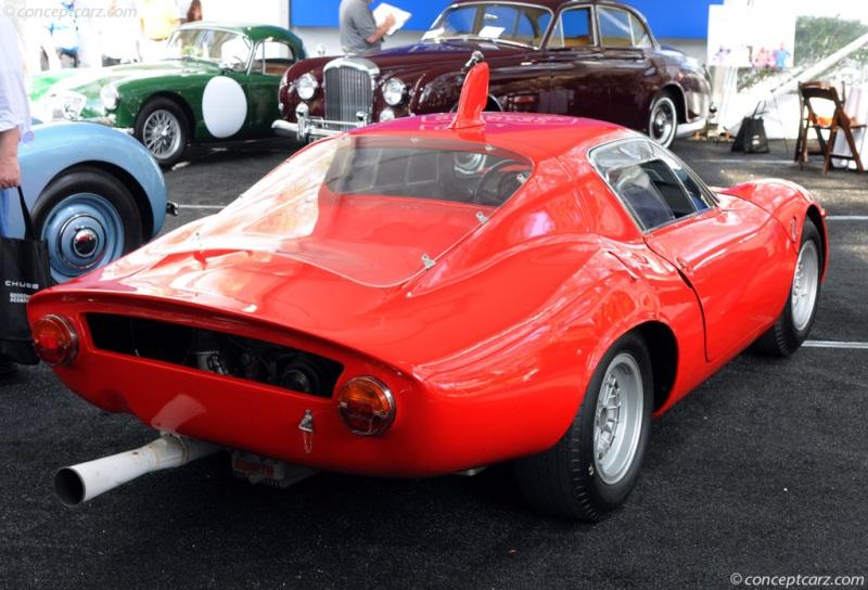 Abarth 1300 luthansa rojo 1964 1:43 maqueta de coche