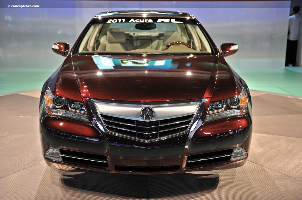 Acura RL News And Information Conceptcarzcom - 2005 acura rl front grill