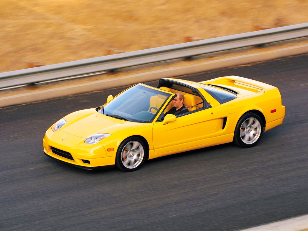 Auction Results and Sales Data for 2003 Acura NSX