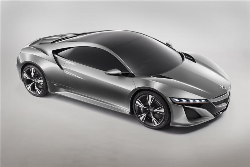 2012 Acura Nsx Concept News And Information Research And Pricing